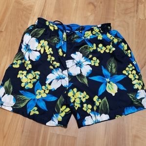 Faded Glory Floral Swim Shorts